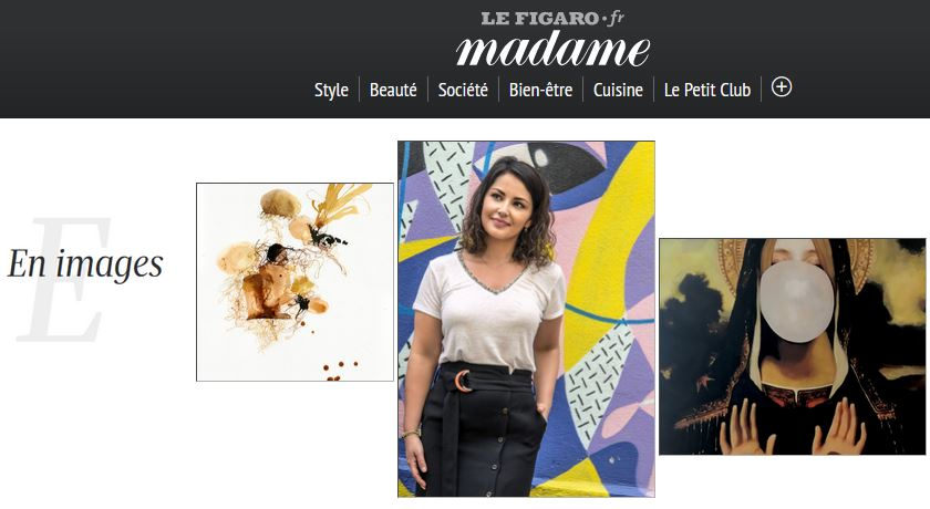 Artalistic in Madame Figaro website