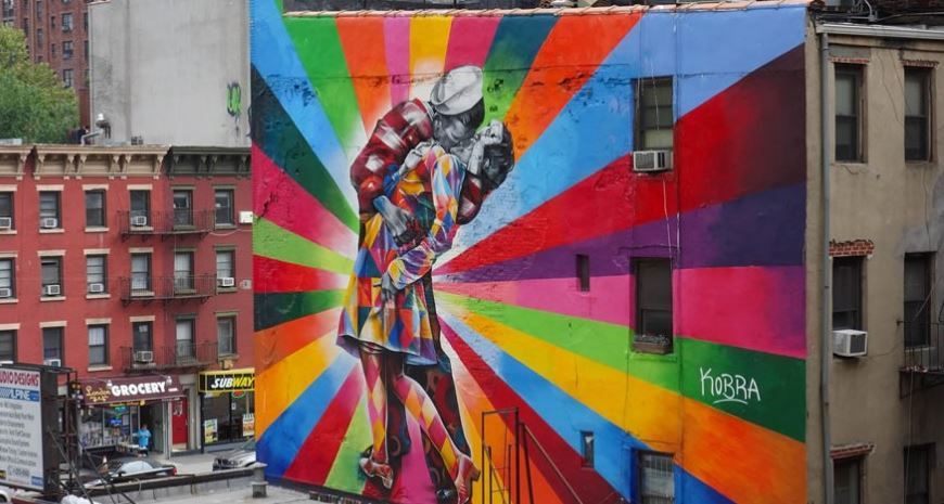 Top 10 famous pieces of street art