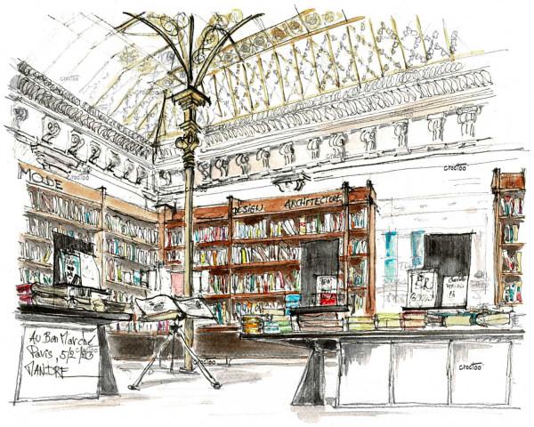 Librairie Au Bon Marché - Beaux Arts