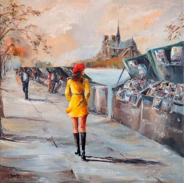 Flâner le long des quais, à Paris