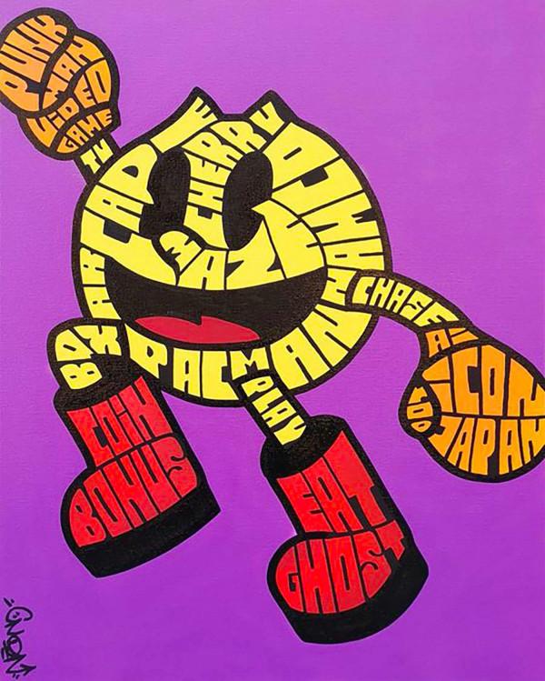 The Graff'Racters : PACMAN