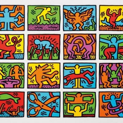 Keith Haring (après/after)