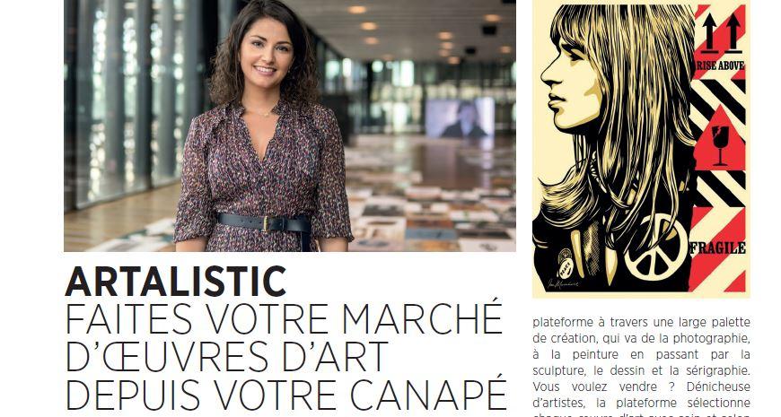 Artalistic dans le magazine Forbes