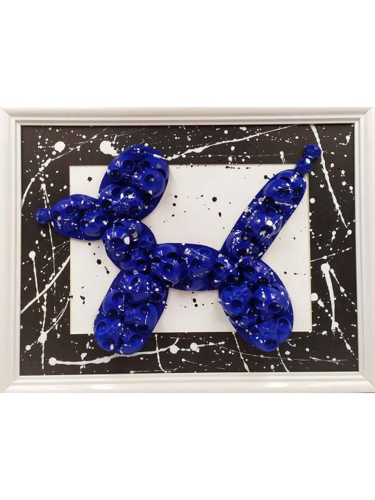 KoonsSkull blue