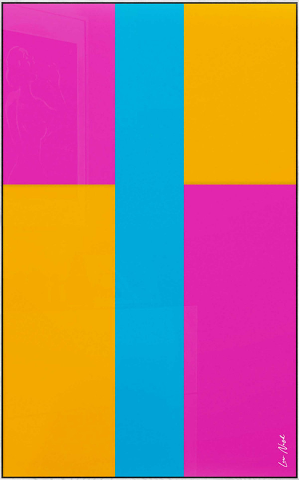Abstraction in color by subtraction No.2 - Symphony of colors I.