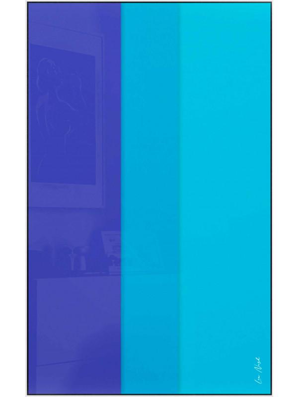 Abstraction en couleur par soustraction No.3 - Symphonie de couleurs I.