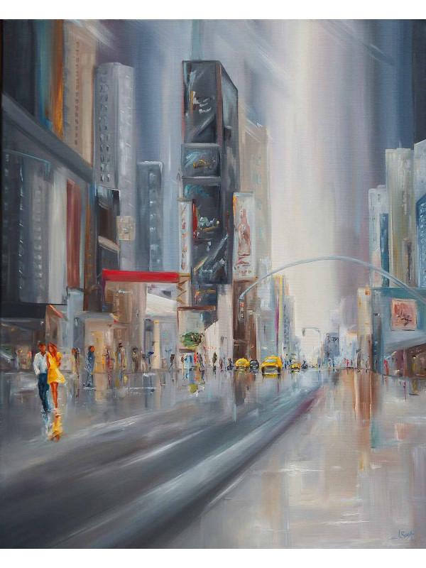 Un soir d'été à Times Square