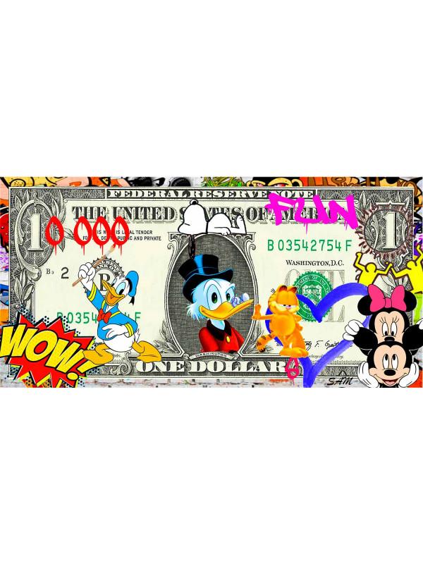 1000 Dollars