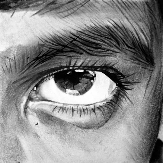 N°1 - polaroïd - œil d'enfant
