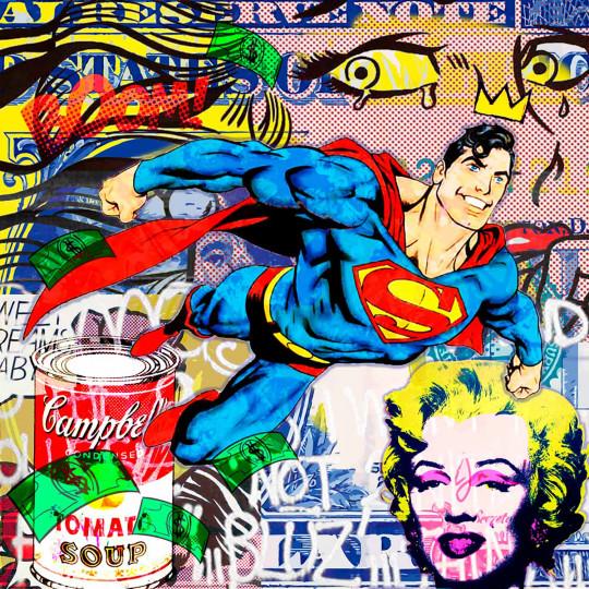 Superman Marilyn Pop