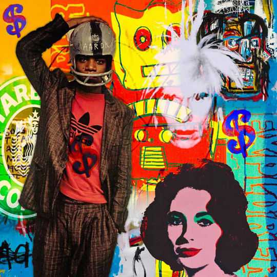 Basquiat vs Warhol