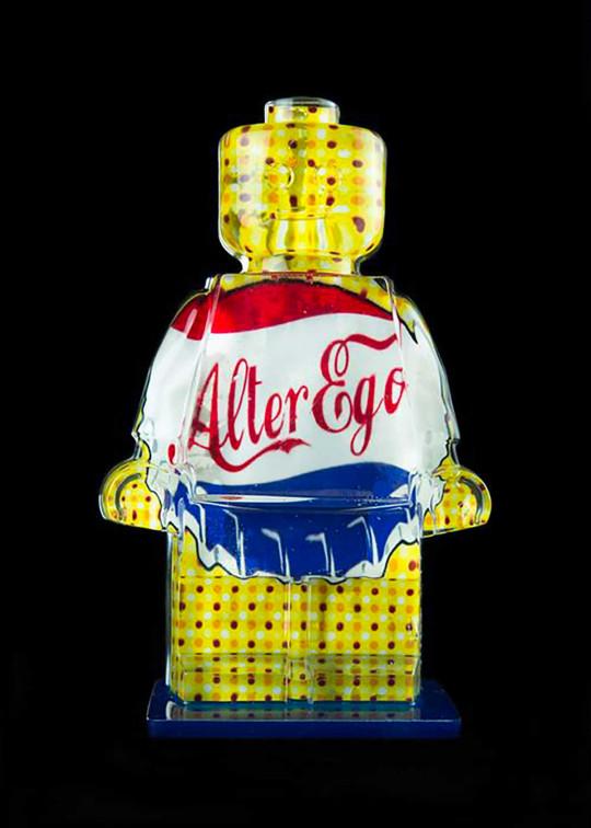 Alter Ego Blue Cap 217 - LEGO Bricks Gary Grayson tribute alepianoart