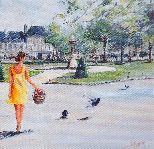 Balade Place des Vosges