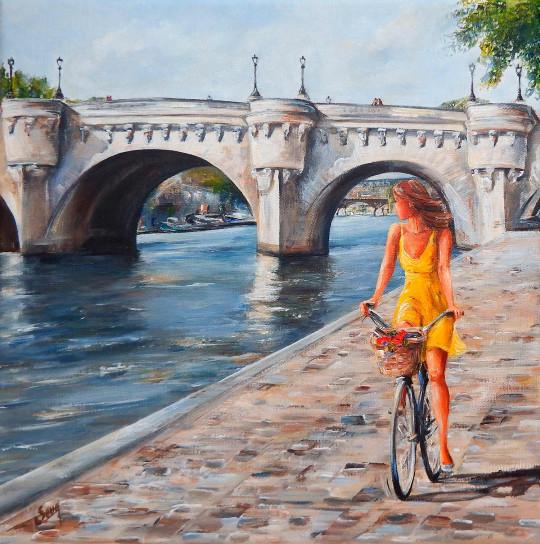 Sous le Pont Neuf, Paris