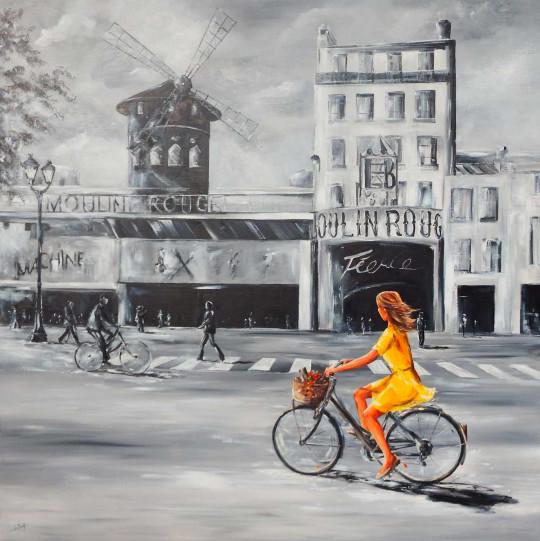 Coup de foudre au Moulin-Rouge