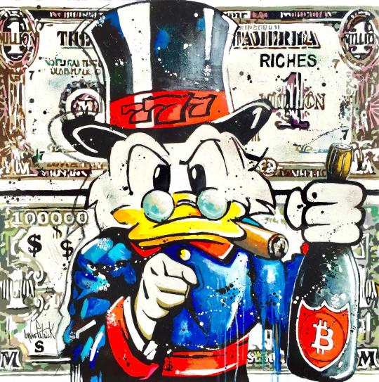 Picsou, Dollar is Dollar and Bitcoin is Bitcoin