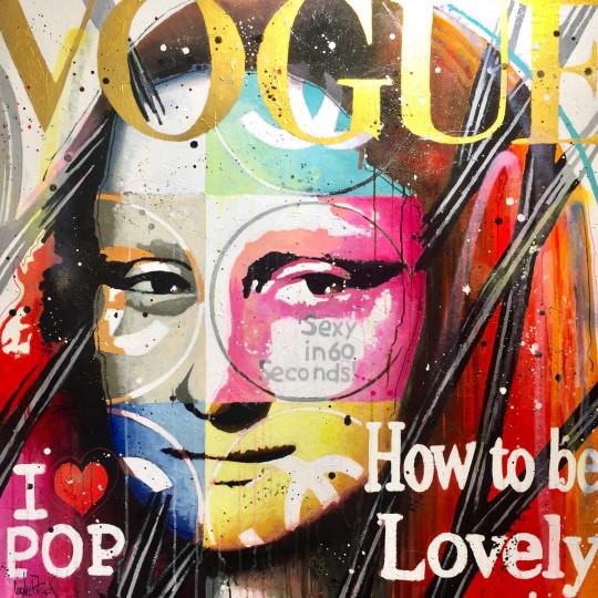 Mona Lisa Pop, vogue, gold version