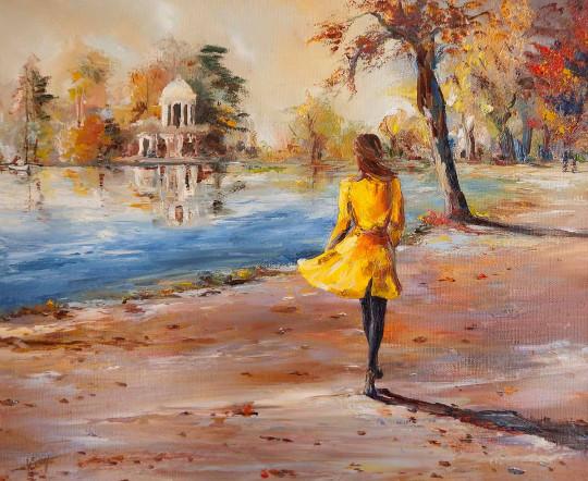 Un matin d'automne
