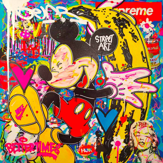 Mickey Mouse Banana Warhol
