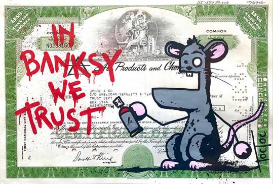 In Banksy We Trust