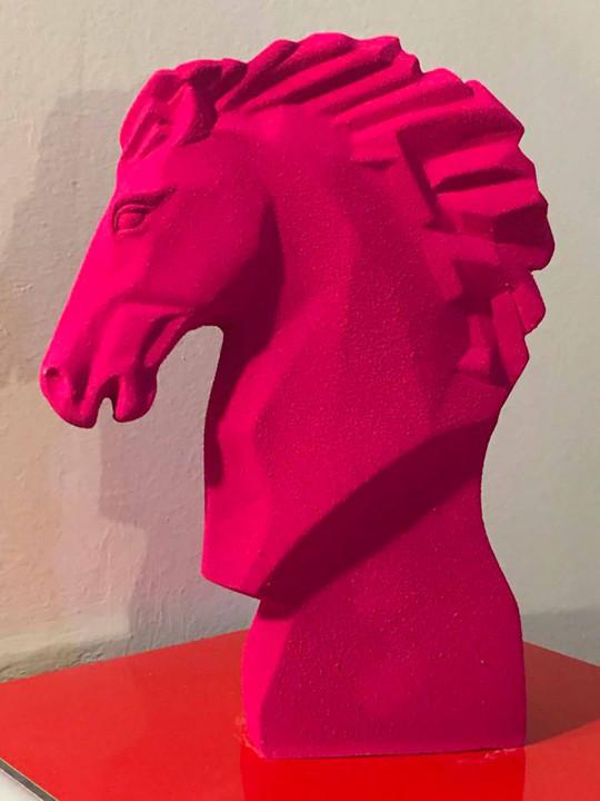 Cheval - pigment rose