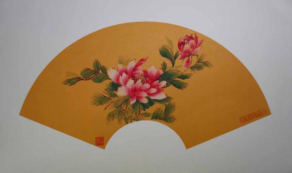 Pivoine rose 6