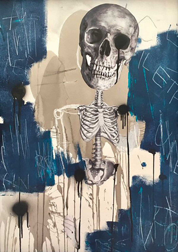 Vanités - Skeleton 01