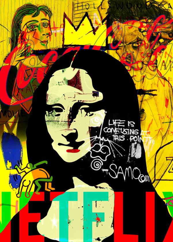 Monalisa like Schiele