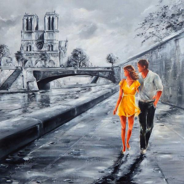 Les amoureux de Notre-Dame (Paris)