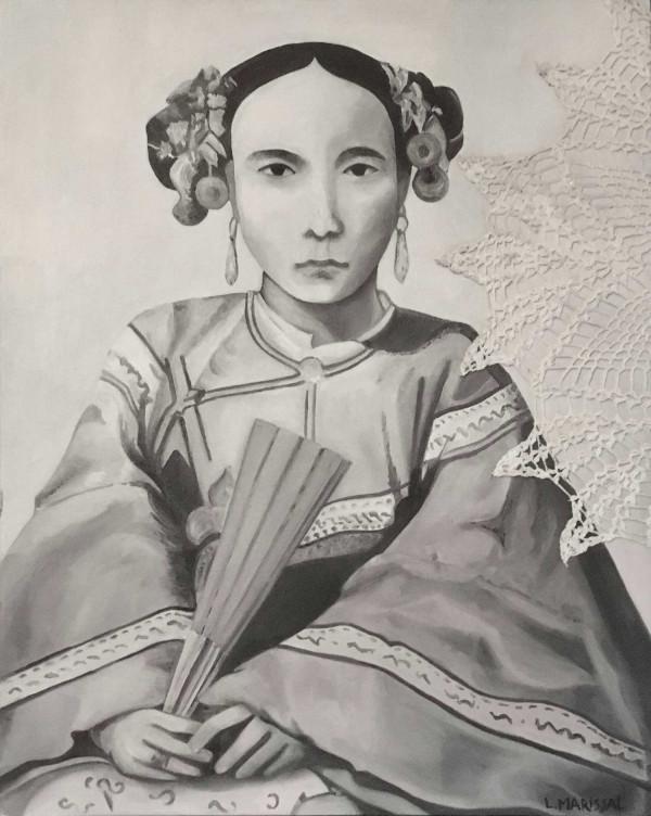 Jeune fille de Bangkok