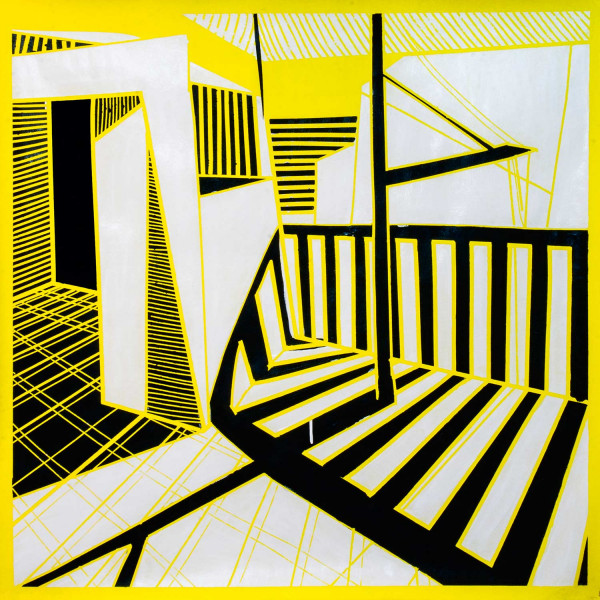 Balcon jaune