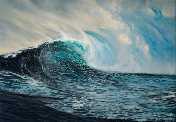 Wave and foam