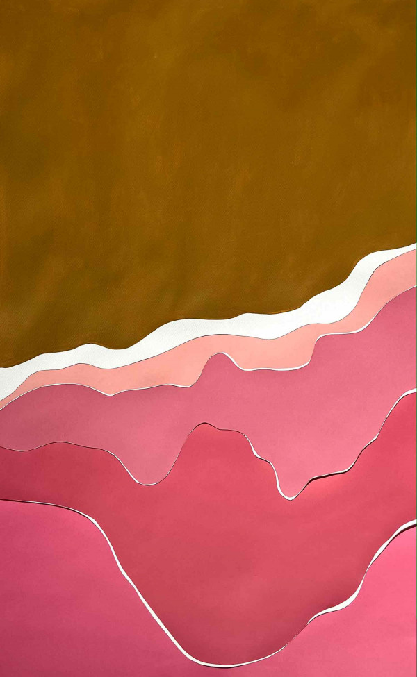 Mer agitée, Pinklagoon