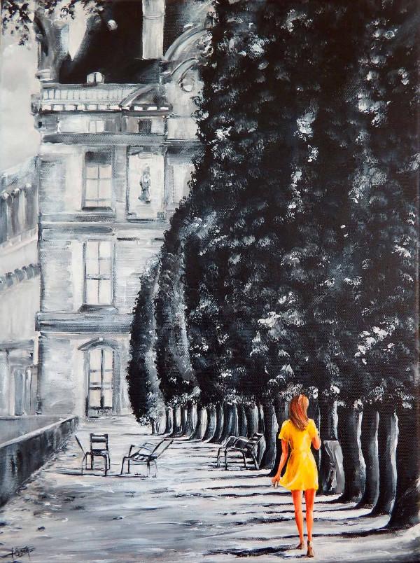 Le soleil des Tuileries