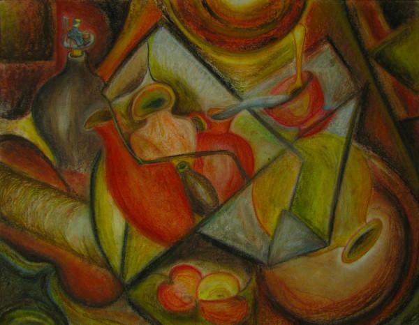Cubisme. Potier.