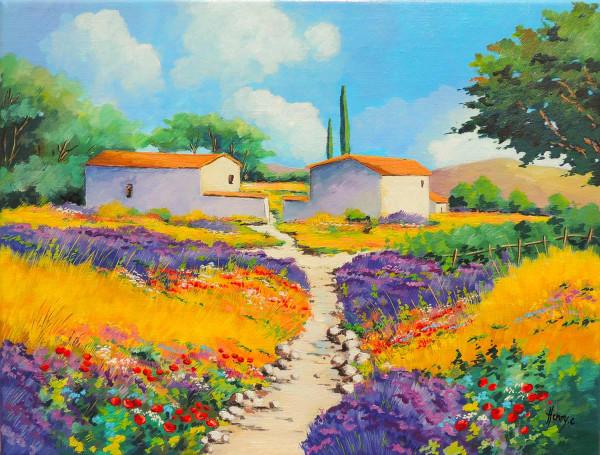 Bastide près de Bonnieux dans le Lubéron en Provence