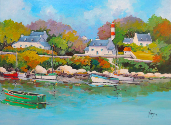 Doëlan petit port breton