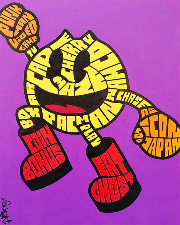 The Graff'Racters : PACMAN