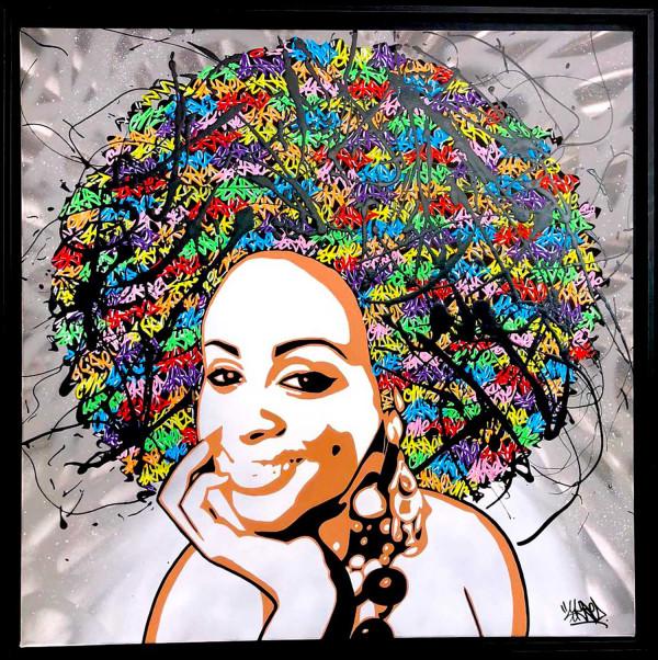 Black woman six