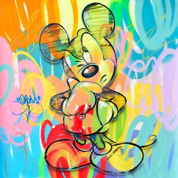 Mickey thinks