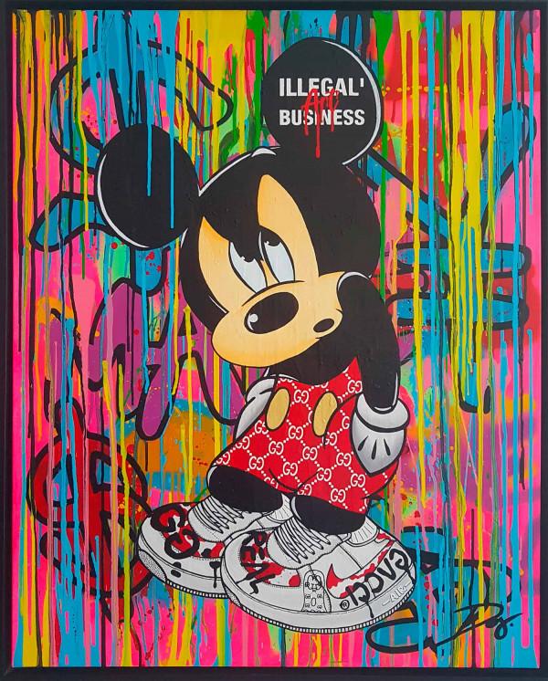 Mickey Gucci Raining