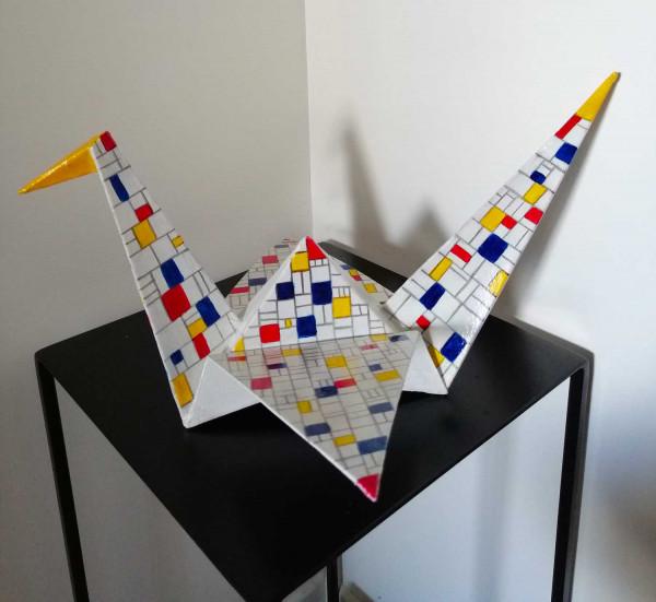 Mondrian firebird