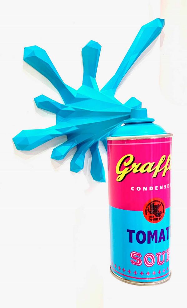 Polysplash - Tomato Soup light blue
