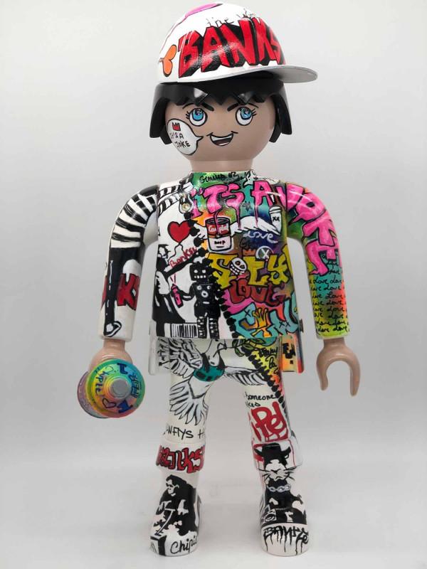Playmobil Banksy