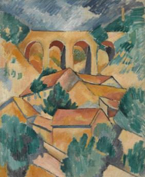 Le Viaduc à L'Estaque, Georges Braque