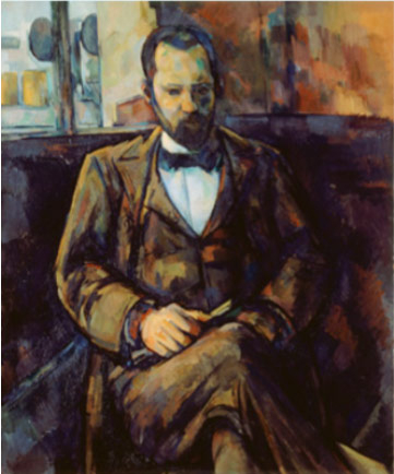 Portrait d'Ambroise Vollard, Paul Cézanne